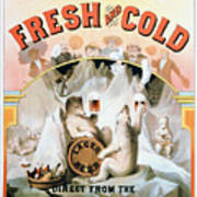 Ad Beer, C1877 Poster