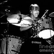 Adam Woods - Drummer - The Fixx Poster by Anthony Gordon Photography