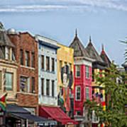 Adams Morgan Neighborhood In Washington D.c. Poster