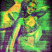 Adele Mara - 1940s Pin Up Poster
