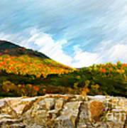 Adirondack Autumn Poster