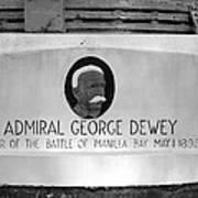 Admiral Dewey Monument Poster