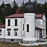 Admiralty Head Lighthouse 2 Poster