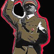 Adolf Hitler Saluting 2 Circa 1933-2009 Poster