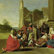 Adoration Of The Magi, Circle Of Bartholomeus Breenbergh Poster