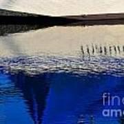 Adrift On The Deep Blue Poster