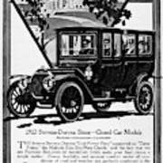 Ads Automobile, 1912 Poster