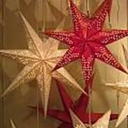 Advent Stars Poster