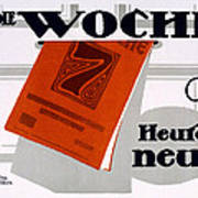 Advert For Die Woche Poster