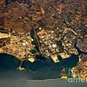 Aerial Photography - Coast Poster