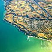 Aerial Photography - Italy Coast Poster