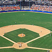 Aerial View Of A Stadium, Dodger Poster