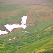 Aerial View Of Alaskan Landscape Poster