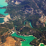 Aerial View Of Andalusia. Spain Poster