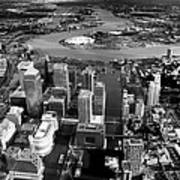Aerial View Of London 5 Poster