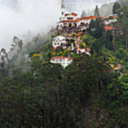 Aerial View Of Monserrate Church Poster