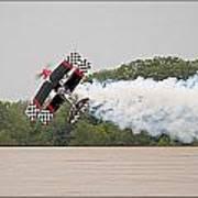 Aerobatic Plane Poster