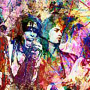 Aerosmith Original Painting Poster