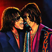 Aerosmith Toxic Twins Painting Poster