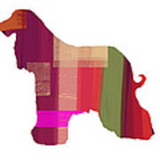 Afghan Hound 2 Poster by Naxart Studio