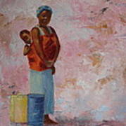 Africa Child Poster