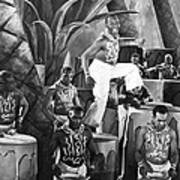 African American Musical Scene Poster