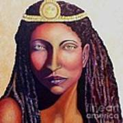 An African Face Poster