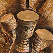 African Drums Poster