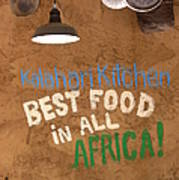 African Food Poster