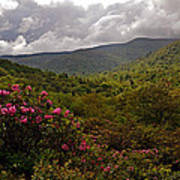 After The Storm At Graveyard Fields Poster