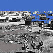 Aftermath Of Pancho Villa's Raid #2 At Columbus New Mexico On March 9 1916-2013  Poster
