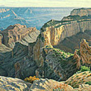 Afternoon-north Rim Poster by Paul Krapf