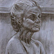 Aged Woman Poster