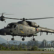 Agustawestland Lynx Helicopters Poster