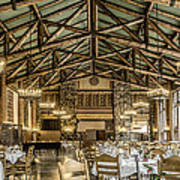 Ahwahnee Dining Room Poster
