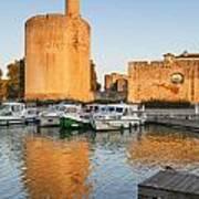 Aigues-mortes  Languedoc-roussillon France Constance Tower Poster