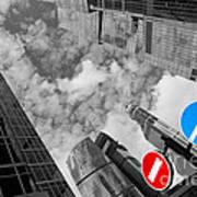 Aim High Poster by Maurizio Bacciarini