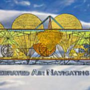 Air Navigating Machine Poster