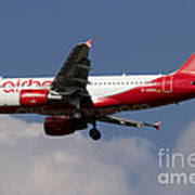Airbus A320 Of Air Berlin Poster