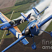 Airplanes Perform At The Sound Of Speed Poster by Stocktrek Images