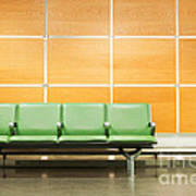 Airport Seats Poster