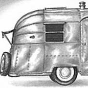 Airstream Vacation Poster