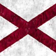 Alabama Flag Poster