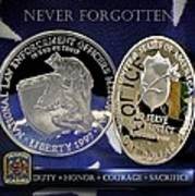 Alabama Highway Patrol Memorial Poster
