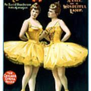 Aladdin Jr Ballerinas Poster