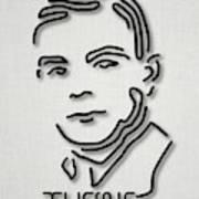 Alan Turing Poster