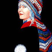 Alaska Alutiiq Woman Poster