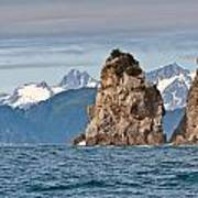 Alaska Coastline Landscape Poster