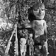 Alaska: Eskimo Grave Poster