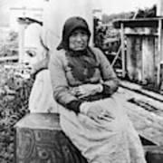 Alaska Eskimo Woman Poster